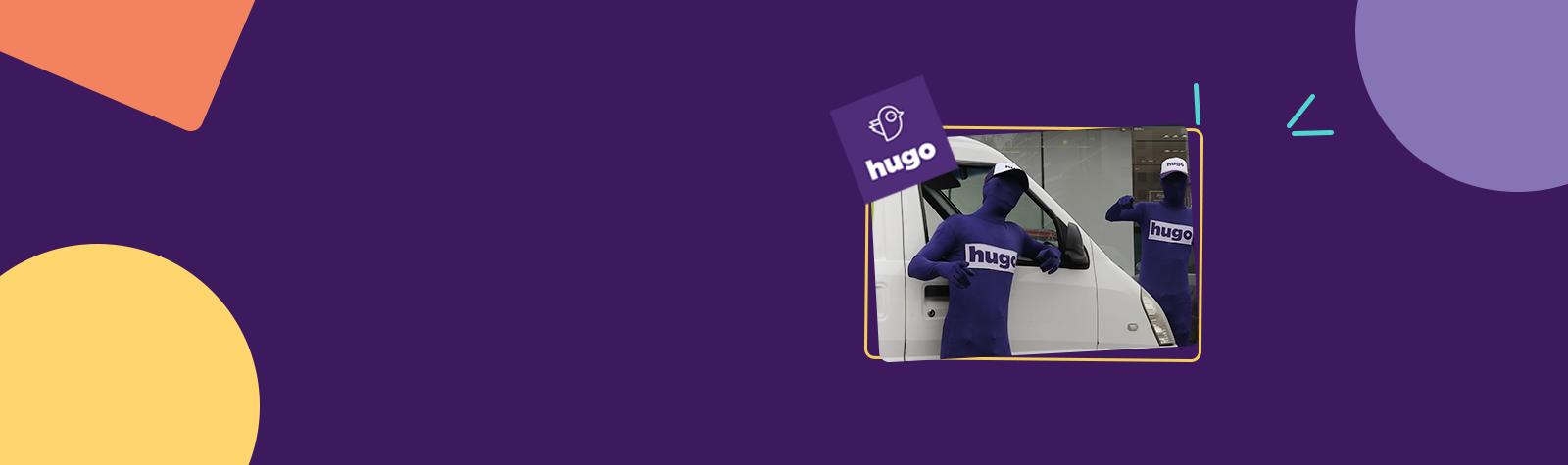 Ahora pídenos por Hugo App